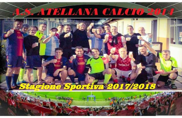 A.S.ATELLANA CALCIO 2014 is a football team. They are using SportEasy, the best web and mobile application to manage any sports team (football, soccer, rugby, basketball, baseball, hockey, volleyball...). Coaches and managers can organize the games and practices or send group messages to their players. Players have convenient access to their schedule or statistics. SportEasy is free and available on the web, iPhone and Android.