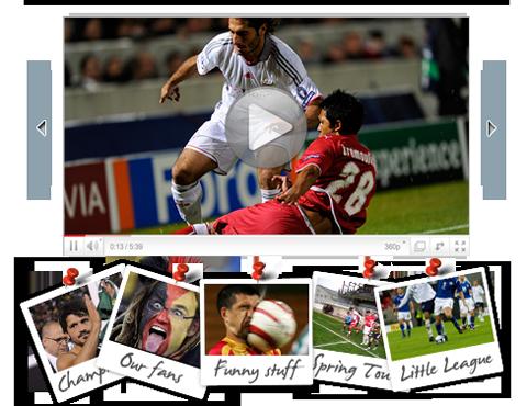 Compartilhamento de fotos e vídeos de seus jogos, sua equipe ou seu clube