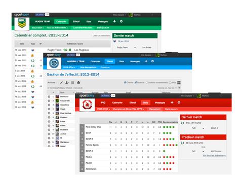 Crear la página web de tu equipo, o de tu club, de fútbol, rugby, baloncesto, balonmano, voleibol, hockey, etc.