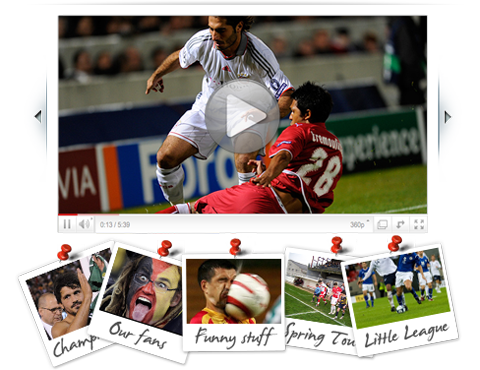 Share photos and videos of your team or club's games