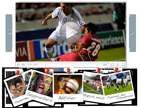 Partage de photos et vidéos de vos matchs, de votre équipe ou de votre club