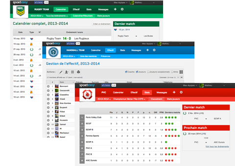 Team management software for all sports - SportEasy